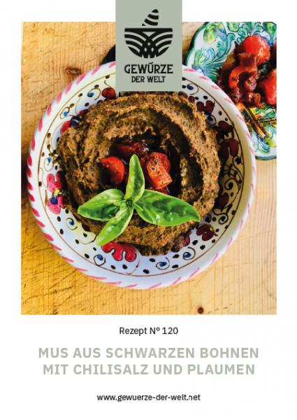 Rezeptkarte N°120 Musausschwarzen