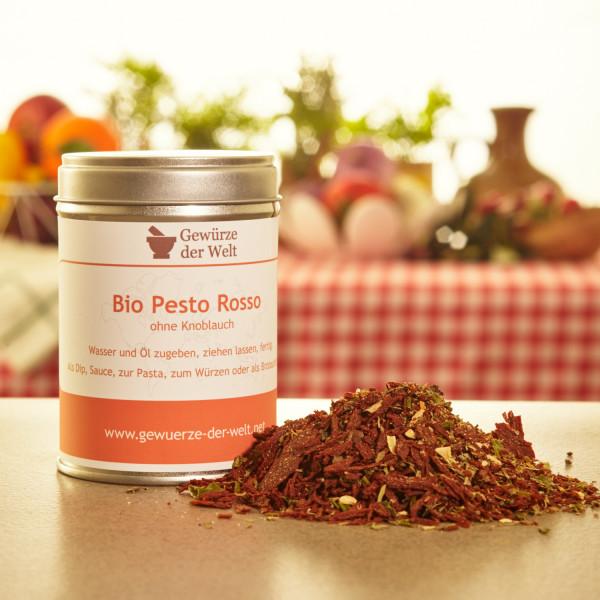 Bio Pesto Rosso mild, ohne Knoblauch