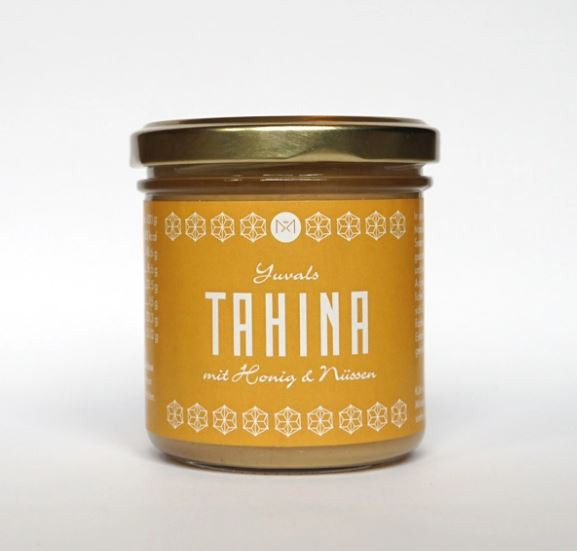 Bio Tahina mit Honig und Nüssen
