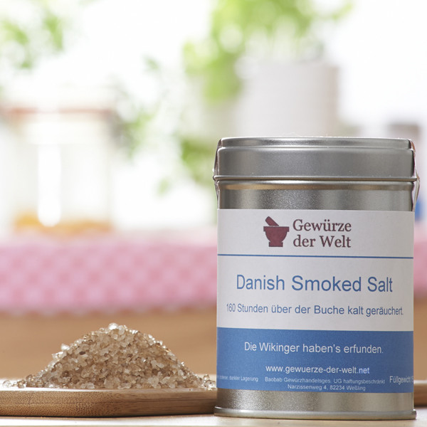 Danish Smoked Salt