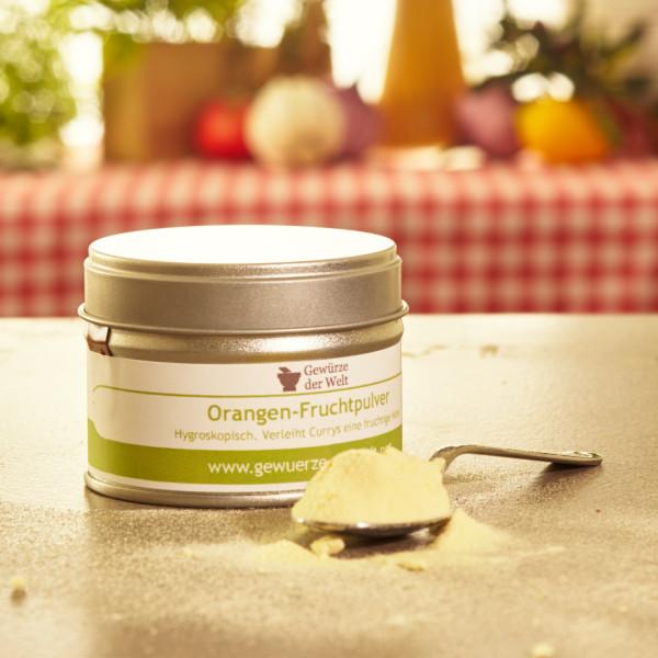 Orangen-Fruchtpulver