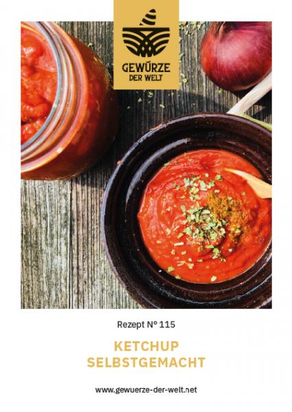 Rezeptkarte N°115 Ketchup selbstgemacht