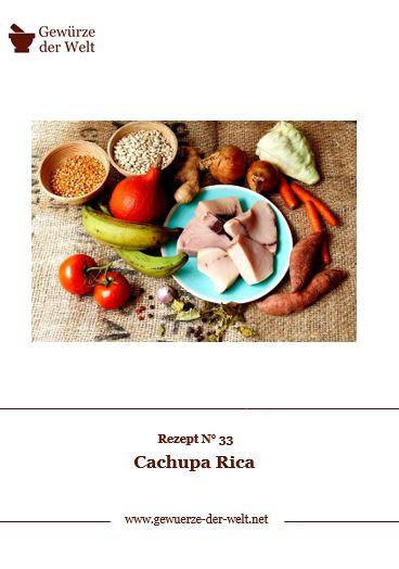 Rezeptkarte N°33 Cachupa Rica