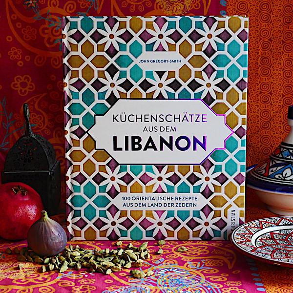 Buch Küchenschätze aus dem Libanon