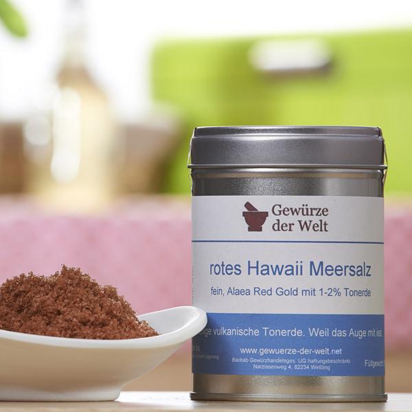 Feines Hawaiisalz rot (Dekorsalz)