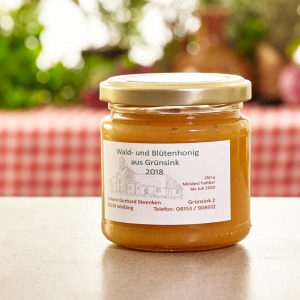 Honig aus Grünsink