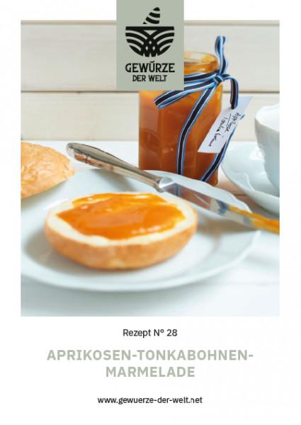Rezeptkarte N°28 Aprikosen Tonkabohnen Marmelade
