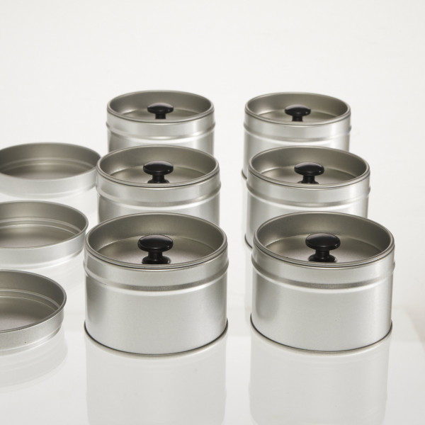 6 kleine Aromadosen