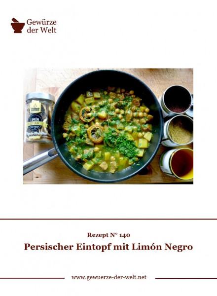 Rezeptkarte N°140 Persischer Eintopf mit Limón Negro