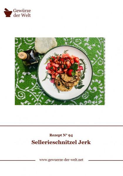 Rezeptkarte N°94 Sellerieschnitzel Jerk