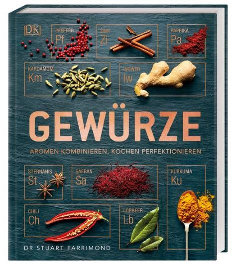 Buch Gewürze - Aromen kombinieren, Kochen perfektionieren