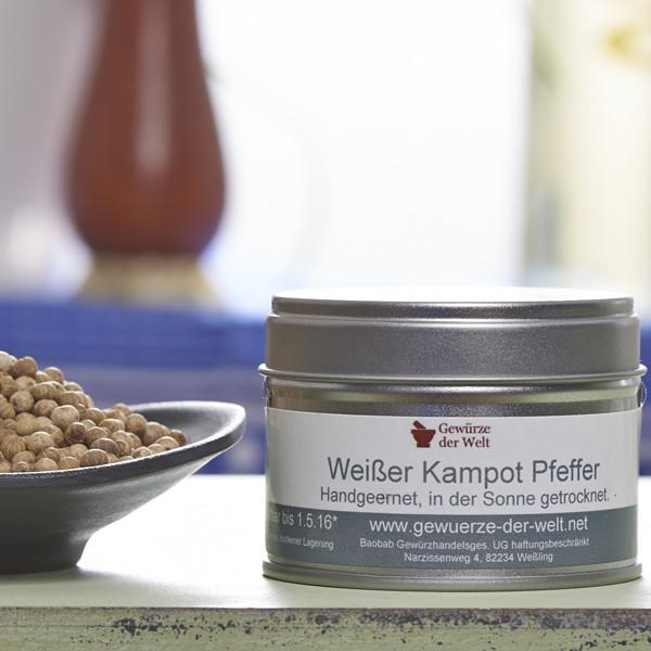Kampot-Pfeffer weiß