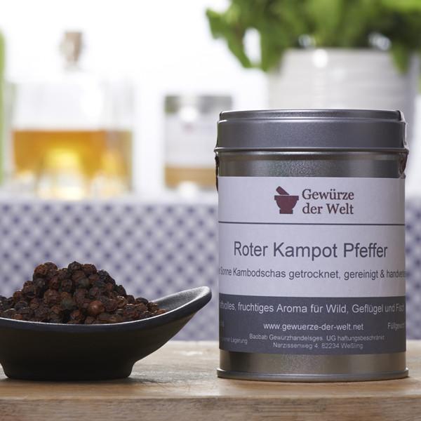 Kampot-Pfeffer rot