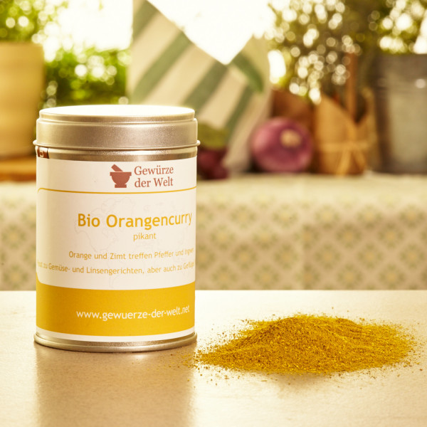 Bio Orangencurry