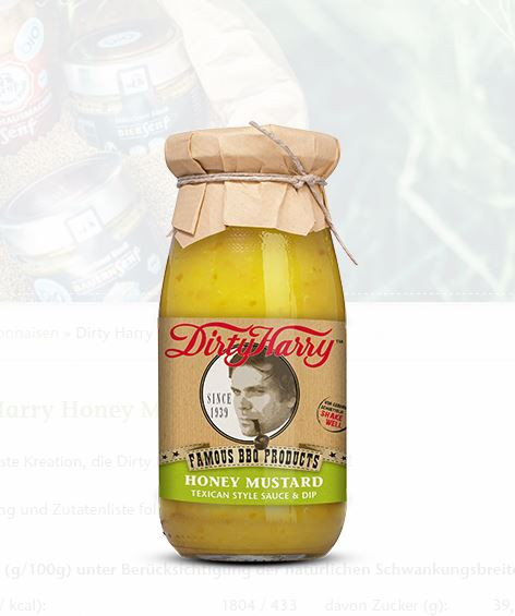 Münchner Kindl Bio Honey Mustard Sauce