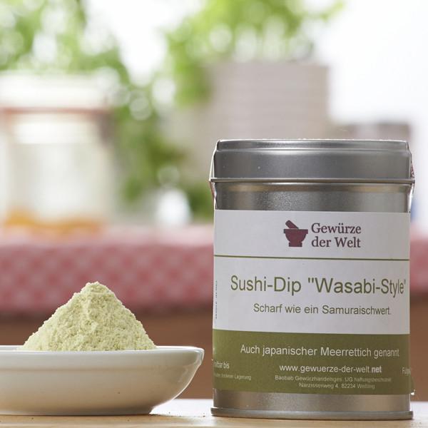 Bio Sushi-Dip 'Wasabi-Style'