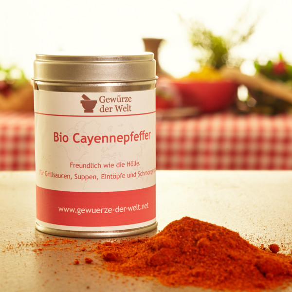 Bio Cayennepfeffer