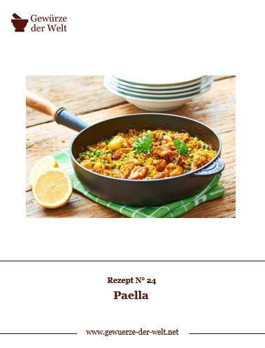 Rezeptkarte N°24 Paella