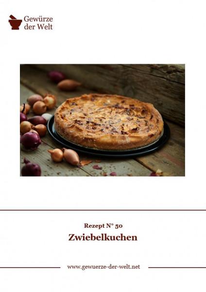 Rezeptkarte N°50 Zwiebelkuchen