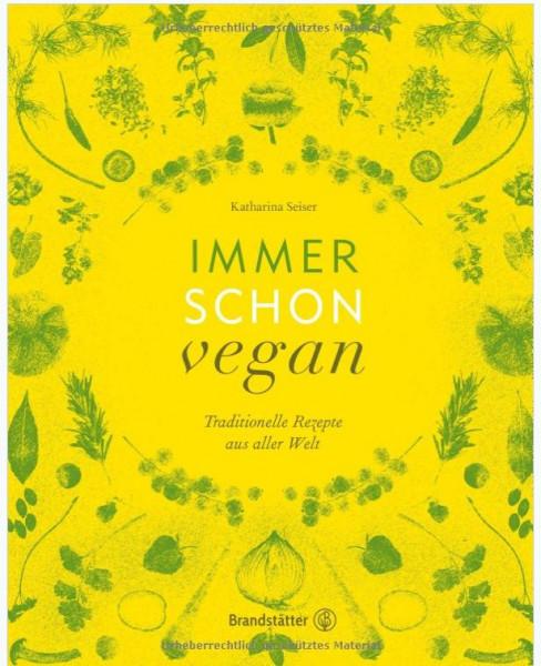 Buch Immer schon vegan