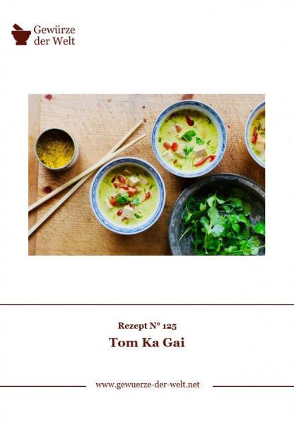 Rezeptkarte N°125 Tom Ka Gai