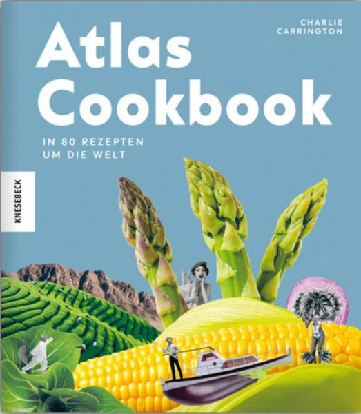 """Buch """"Atlas Cookbook"""" - In 80 Rezepten um die Welt"""
