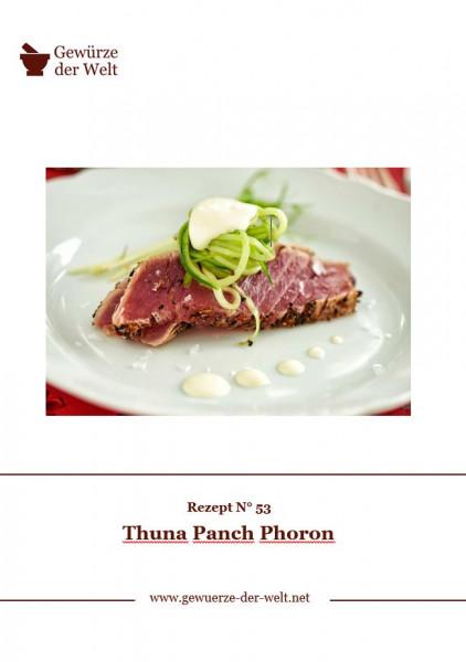 Rezeptkarte N°53 Thuna Panch Phoron