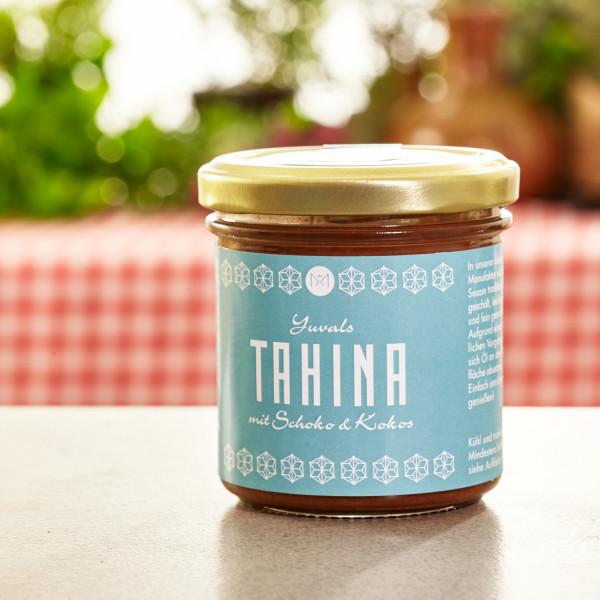 Bio Tahina mit Schokolade und Kokos