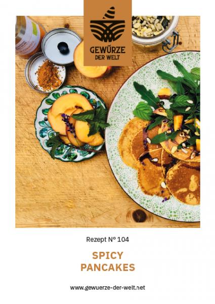 Rezeptkarte N°104 Spicy Pancakes