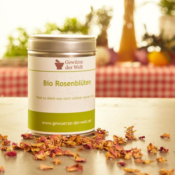 Bio Rosenblüten
