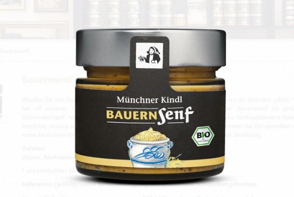 Münchner Kindl Bio Bauernsenf