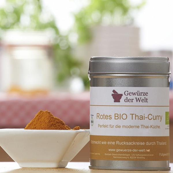 Bio Thai-Curry rot