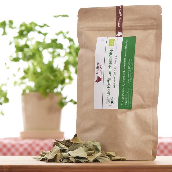 Bio Kaffir-Limettenblätter