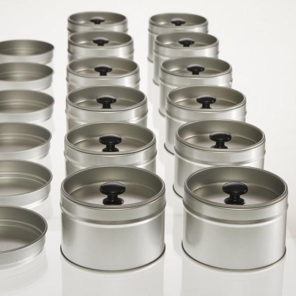 12 kleine Aromadosen