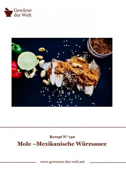 Rezeptkarte N°130 Mole –Mexikanische Würzsauce