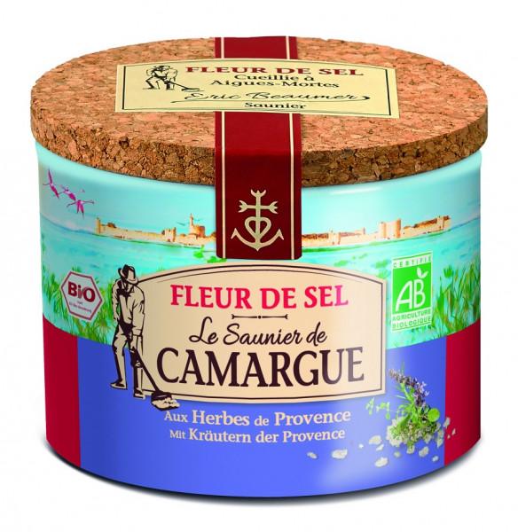 """Fleur de Sel de Camargue Bio Kräuter der Provence """"Le Saunier"""""""
