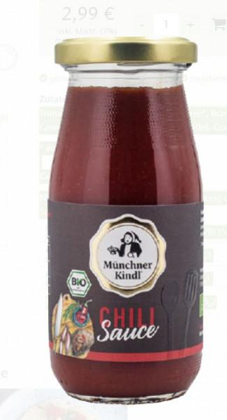 Münchner Kindl Bio Chili-Sauce