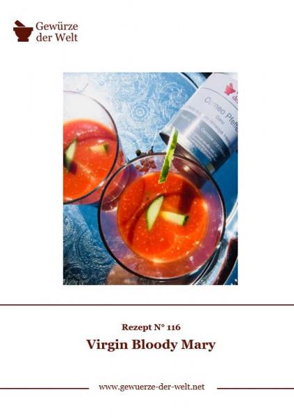 Rezeptkarte N°116 Virgin Bloody Mary