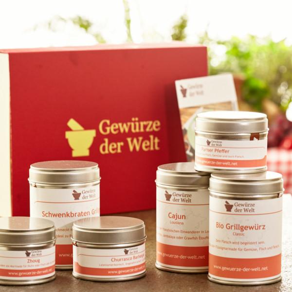Geschenkset 'Grillmeister'