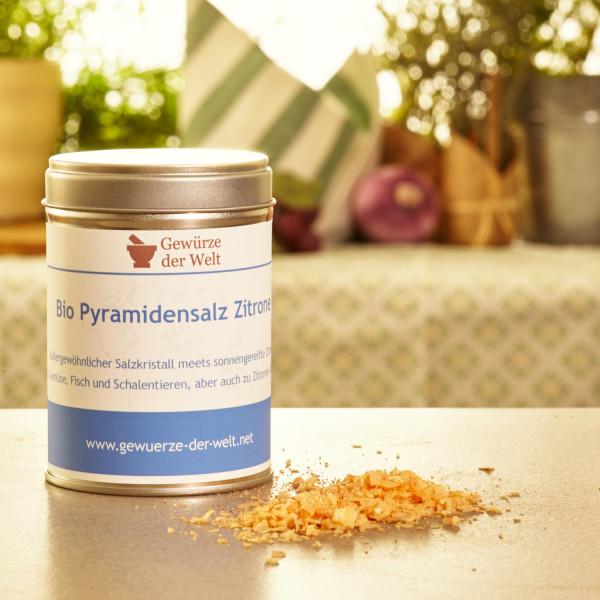 Bio Pyramidensalz Zitrone