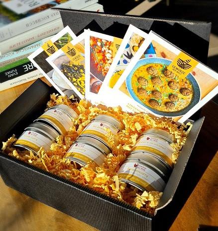Geschenkset Curry-Box