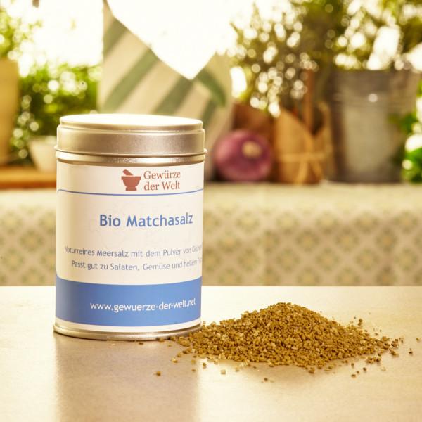 Bio Matcha-Salz