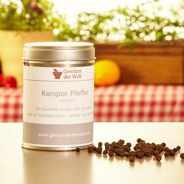 Kampot-Pfeffer schwarz