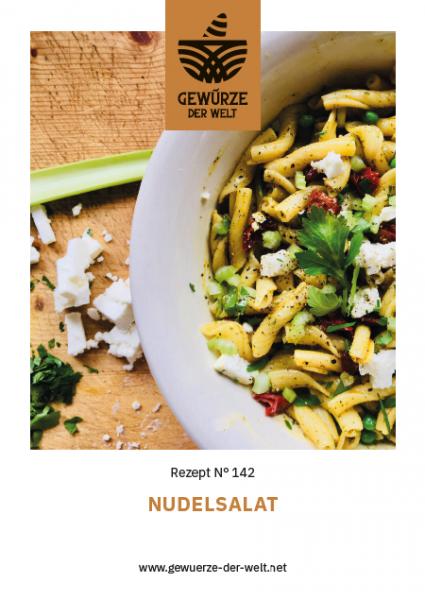 Rezeptkarte N°142 Nudelsalat – Die Grillsaison ist eröffnet!