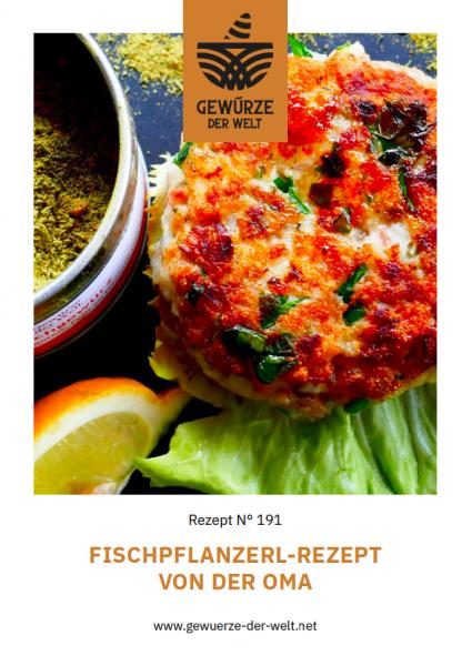 Rezeptkarte N°191 Fischpflanzerl - Rezept von der Oma