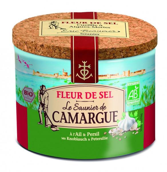 """Fleur de Sel de Camargue Bio Knoblauch & Petersilie """"Le Saunier"""""""