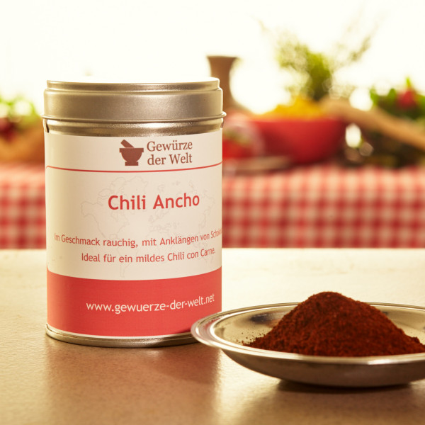 Chili Ancho gemahlen