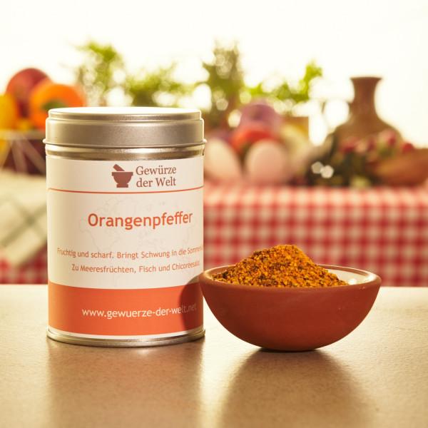 Orangenpfeffer fruchtig-scharf