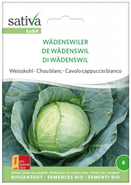 Bio Saatgut - Weisskohl Wädenswiler
