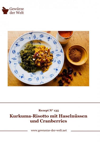 Rezeptkarte N°135 Kurkuma-Risotto